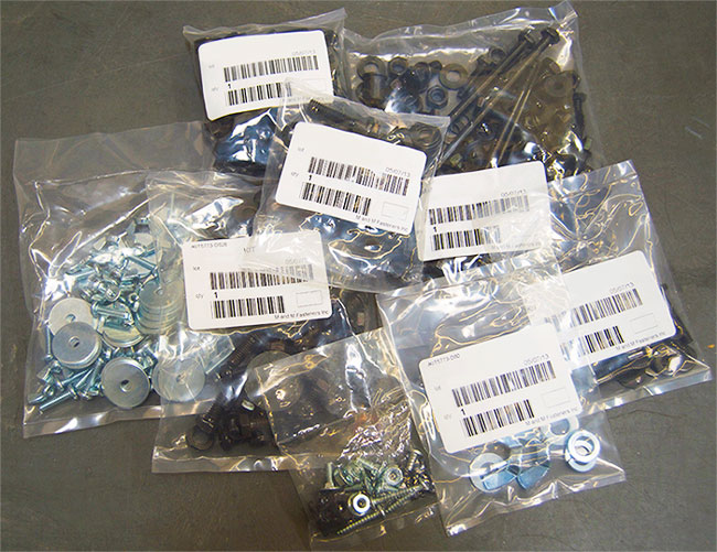 M and M Fasteners Custom Packaging